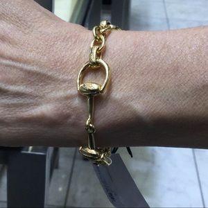 GUCCI horse bit bracelet